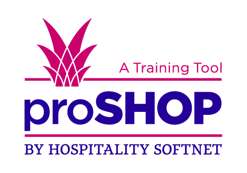Pro Shop. A Training Tool. By Hospitality Softnet.